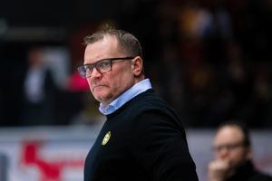 Magnus Sundquist är förvånad över beskedet. Brynäs har tagit höjd för att Söderström skulle vara borta över jul och nyår. Foto: Bildbyrån