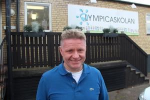 Fredrik Ahlgren är delägare och huvudman för Olympicaskolan i Hedemora.