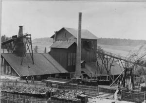 Uttersbergs bruk 1918. Foto: A.A. Karlsson