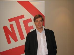 Jan Sandberg, VD på NTF.