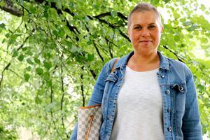 Isabella Almeteg valde tidigt att berätta om sin sjukdom.