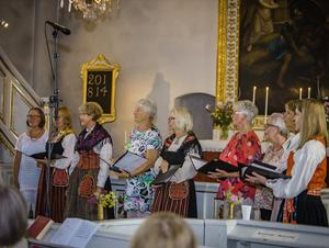 Undersviks kyrkokör. Foto: Carlotto Persson