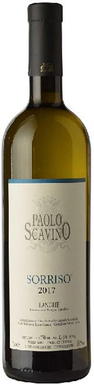 Paolo Scavino Langhe Bianco Sorriso 2017.