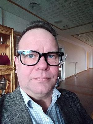 Håkan Jansson är skyddsombud vid Kollektivtrafikförvaltningen, Dalatrafik i Borlänge. Han sitter också med i Vision Dalarnas styrelse. Foto: Privat.