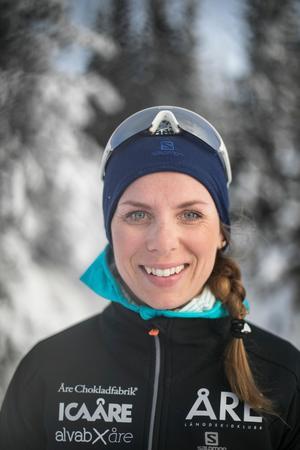 Lina Korsgren, som tävlar för Åre Längdskidklubb, kommer att hyllas hemma i Åre under under måndagskvällen.
