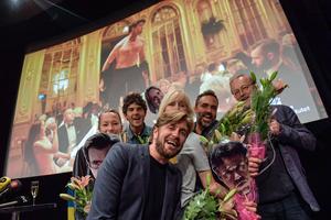 Foto: Jessica Gow / TT  Ruben Östlund på Filmhuset i Stockholm när hans film