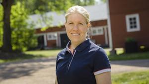 Jenny Andersson, ordförande svensk Fågel och kycklingbonde i Bankebergs gård. Bild: Svensk Fågel