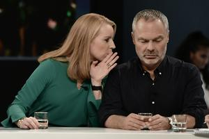 Annie Lööf (C) och Jan Björklund (L) har i överenskommelsen med regeringspartierna drivit på för att modernisera arbetsmarknadslagstiftningen. Foto: Stina Stjernkvist/TT