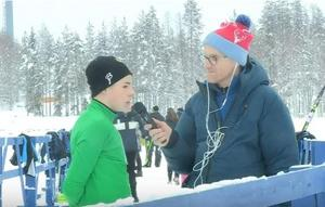 Sander Krouwel, Stora Tuna, tog silver i fredagens distanslopp på USM.Foto: Mittmedia