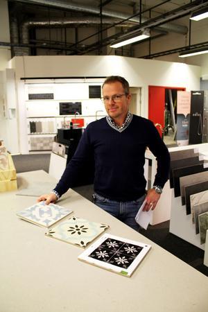 Niklas Juhlén, ägare av butiken Hemmaplan.