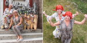 23-25 maj firar butiken Affair tio år. Det firas som vanligt med personalen i Pippi-peruk.