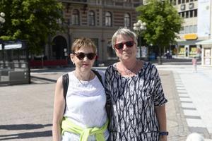 Gunilla Andersson och Gittan Lampe.