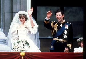 Lars Wallin tycker att prinsessan Diana var vacker i sin klänning trots att den var som en stor gräddbakelse. Foto: TT