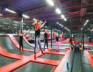 På Jumpyard kommer det att finnas trampoliner, men också mycket mer