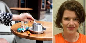 Ett slag mot individens frihet och en åtgärd grundad i moralpanik - så tycker Liberala ungdomsförbundet Dalarna om det nya rökförbudet. Foto: Ragna Fahlander, Magnus Andersson/TT