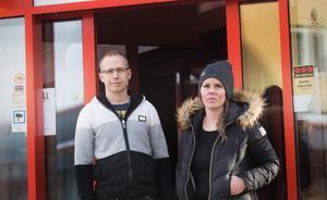 Jonas Eliasson och LInda Andersson ser fram emot att öppna inredningsbutiken Påpall i Avesta centrum.