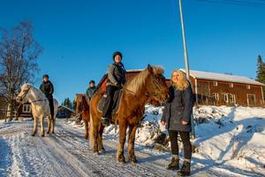 På Riiby gård anordnas bland annat turridningar.