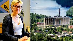 Sollefteå sjukhus har stått i fokus under Nina Fållbäck Svenssons två och ett halvt år som chef för specialistvården.