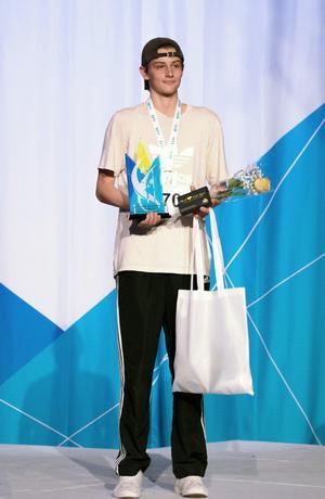 Svenska Mästaren Joel Helander.