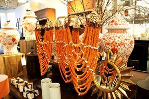 Orange är en populär accentfärg just nu.