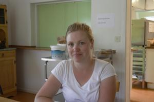 Moa Källén berättar om förberedelserna för att ta emot räddningstjänststyrkorna.