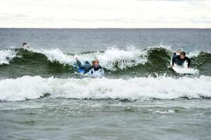 Salusand. Här kan du bada tryggt, i varje fall sett till renheten på vattnet. Foto: Leif Wikberg