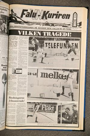 1974: Vilken tragedi...