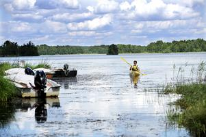 Hänsyn till djur- och vattenliv tas med i beräkningen när vattennivån regleras i Solgen. Bilden är tagen i ett annat sammanhang.
