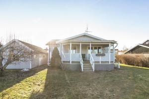 Huset på Österlånggatan är veckas mest klickade. Foto: Svensk Fastighetsförmedling Arboga