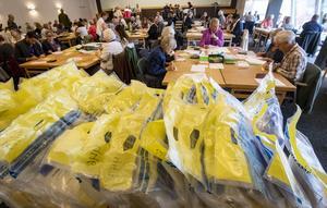Anledningen till omvalet i Falun är att 126 förtidsröster i val till kommunfullmäktige inte kom fram till valnämnden i tid och därmed aldrig räknades. Bild: Johan Nilsson/TT