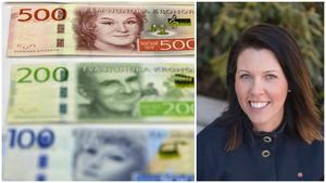 En återbetalning på 17 miljoner kronor från NVK ligger bakom större delen av överskottet, enligt kommunalrådet Johanna Odö (S). Foto: Anders Wiklund/TT, Agnes Achrén