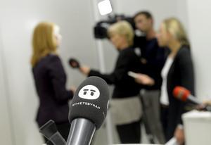 Pressträff. Arkivbild. Foto: Bertil Enevåg Ericson .