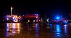 Två kvinnor i 80-årsåldern avled i samband med krocken på E4 norr om Gnarp.