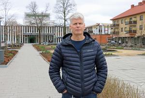 Rolf Sundqvist är säkerhetschef på Sandvikens kommun.