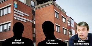 Peabmannen, Sollefteåbon och Daniel Kindberg ska nu upp i förhandling på Ångermanlands tingsrätt.