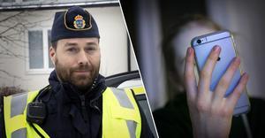 Fotomontage: Mikael Hellsten/Torbjörn Granling. Yngre personer utnyttjas nu alltmer för penningtvätt, även i Dalarna.