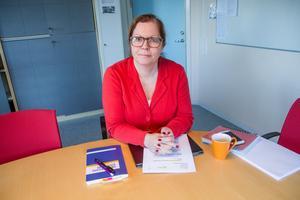 Åsa Unger är chef för barn- och utbildningsförvaltningen i Söderhamn.