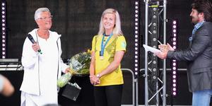 Hanna Glas hyllades av Sundsvallsborna.