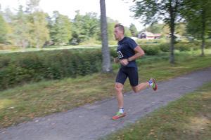 25 km-loppet var västeråsaren Rasmus Enlunds första seger i ett större motionslopp.