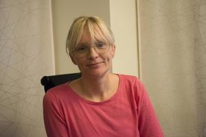 Kristina Magnusson, marknadskoordinator, tycker att det är viktigt att Mittmedia även visar samhällsengagemang och inte bara bevakar samhället.