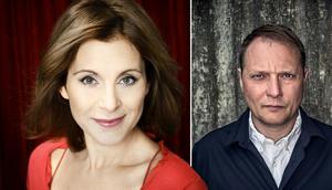 Helen Sjöholm och Magnus Carlson kommer till Höga Foto:  Anna-Lena Ahlström/Johan Bergmark