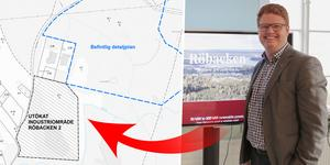 Nu detaljeplaneläggs ytterligare ett område vid Röbackens industriområde.