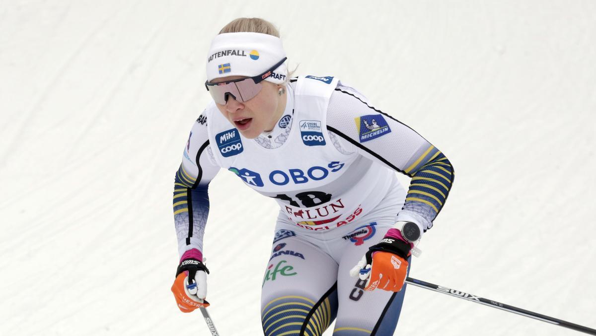 Trots Svahns utbrott – svensk pallplats i sprinten efter spurtdramatik