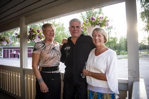 Ann-Marie Croneström, Lars Näslund och Carola Walldén.