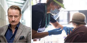 Matti Sällberg, professor och vaccinforskare vid Karolinska Institutet i Stockholm ser det som ytterst sannolikt att äldre, boende på särskilt boende och personer med svagt immunförsvar får en tredje vaccindos redan i vinter.