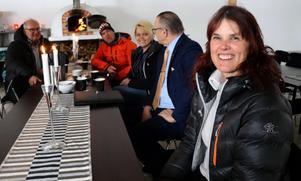 Mid Adventures VD Gunilla Thornberg gläds över de signaler som nu ges kring markfrågan, och där både äventyrsbolaget och kommunens politiker nu verkar stå på samma ben inför fortsättningen.