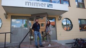 Åke Larsson jobbar som coach och Wivecka Ljung som HR - och kvalitetschef på Mimer.