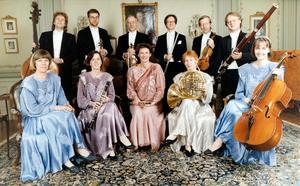 Nordiaensemblen under 80-talet. Flera av musikerna är kvar i Nordiska Kammarorkestern. Bild: Sandbergs Foto Nord, Sollefteå