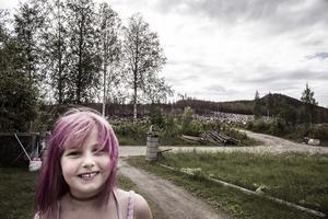 Tindra Johansson, 6 år, var en av