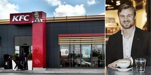KFC finns på åtta orter i landet och expanderar snabbt i landet. Nu blickar bolaget på Birstaområdet.
